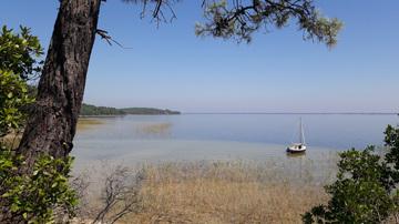 Randonnées et sorties VTT autour du lac d'Hourtin